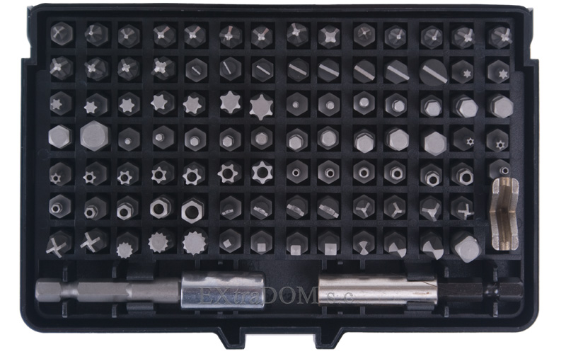 Neo - Bity, końcówki śrubokrętowe specjalne 100 części