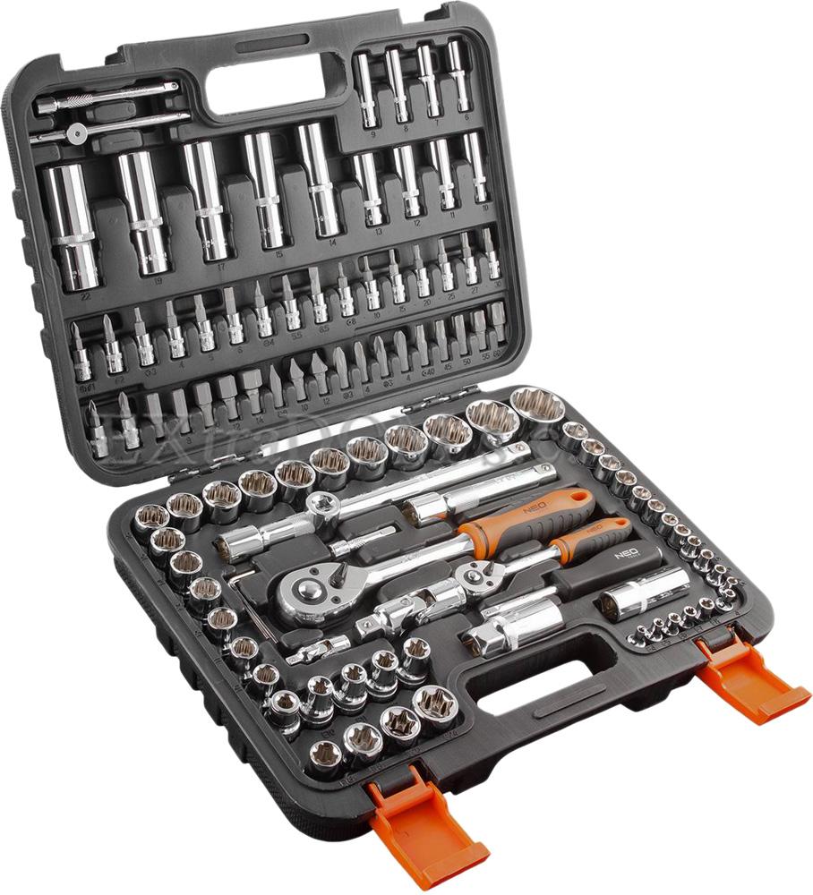 Neo - profesjonalne narzędzia ręczne - zestaw kluczy nasadowych