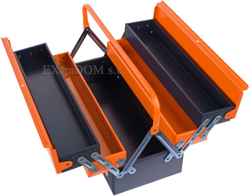 metalowa skrzynka narzędziowa neo tools
