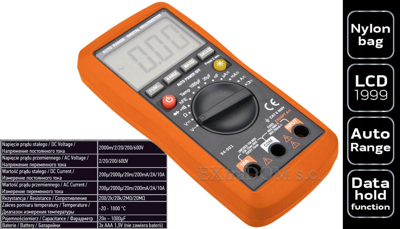 Miernik elektroniczny Neo Tools