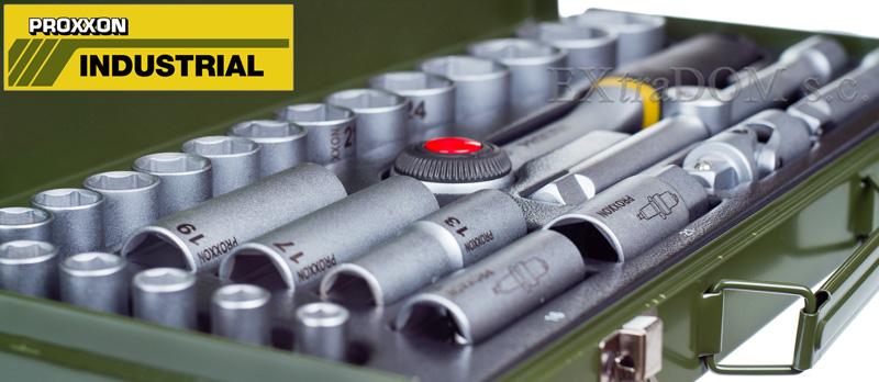 Proxxon - zestaw kluczy nasadowych 23000