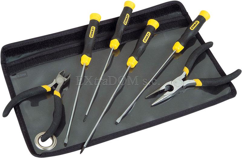 narzędzia precyzyjne Stanley, wkrętaki, szczypce
