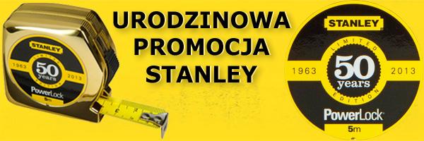 Stanley promocja urodzinowa miary POWERLOCK
