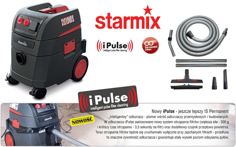 Odkurzacz przemysłowy Starmix ardl 1435 ews Permanent clean iPulse