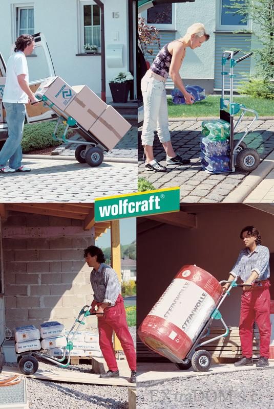 wózek transportowy, taczka TS 1000 Wolfcraft