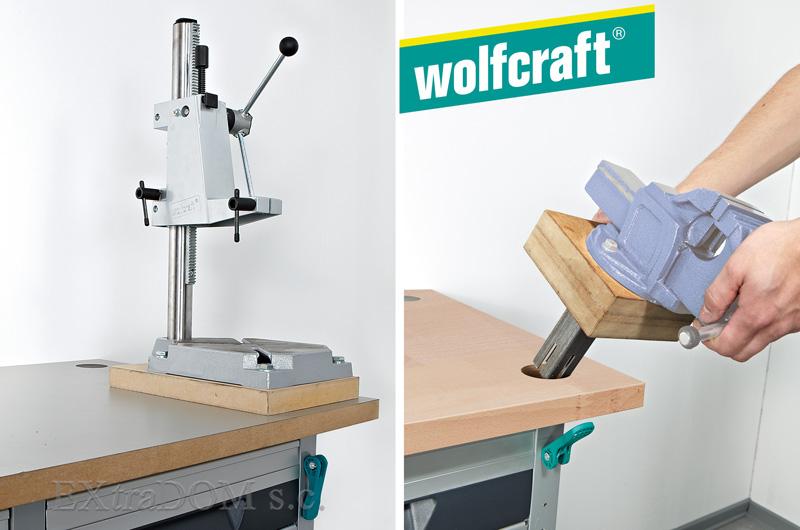 Wolfcraft - system mebli warsztatowych