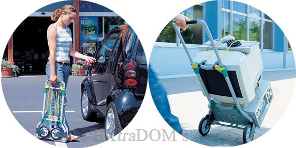 składany wózek transportowy Wolfcraft