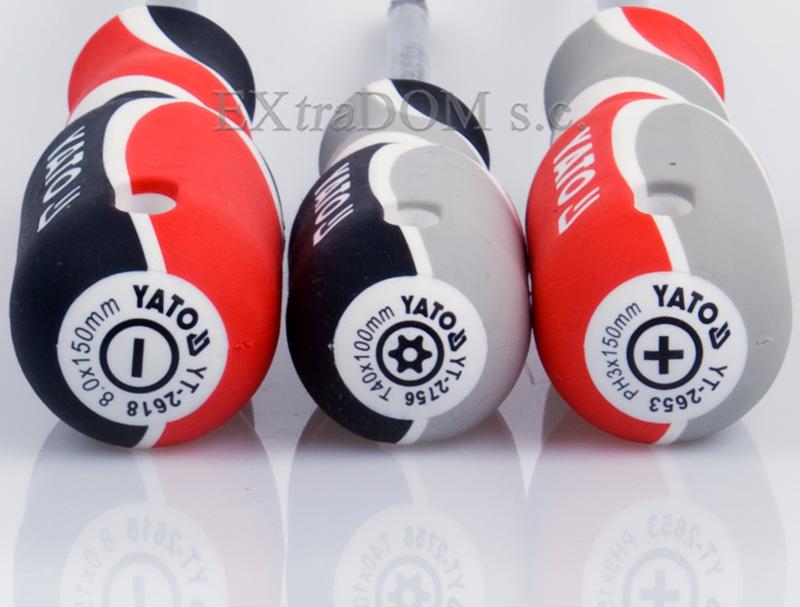 zestaw wkrętaków yato
