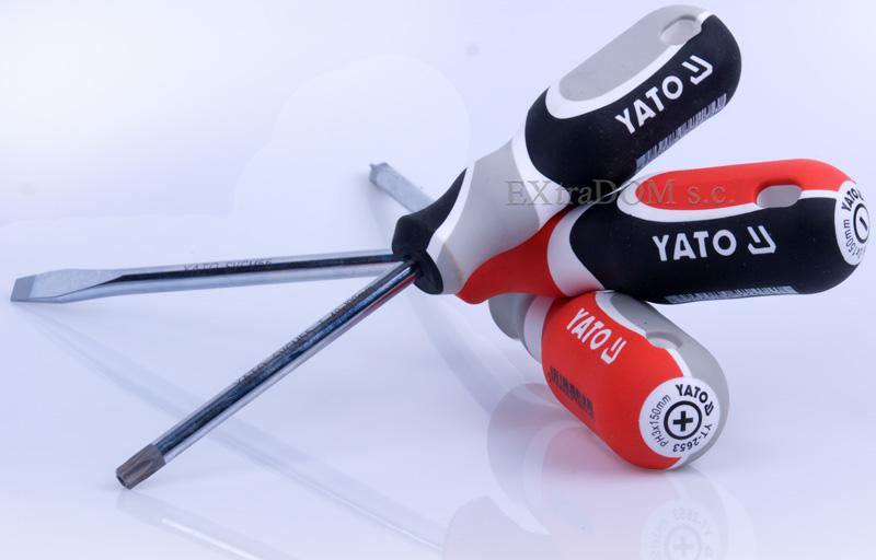 profesjonalne wkrętaki Yato